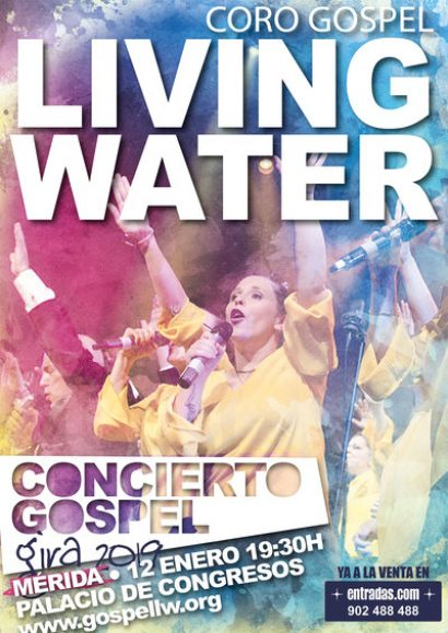 Gospel Living Water: Gira 2018/19