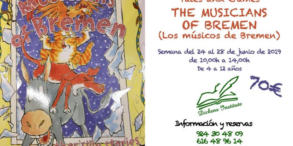 The musicians of Bremen, actividad de Instituto Dickens