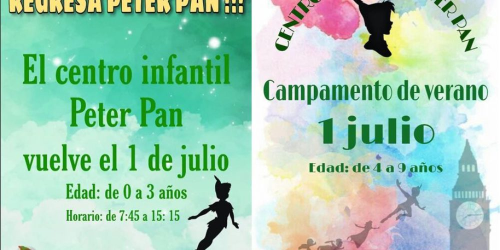 ¡Regresa Peter Pan!