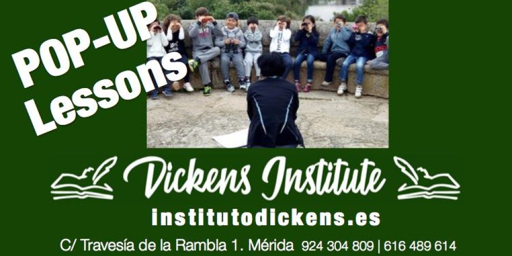 Popup Lesson en Instituto Dickens